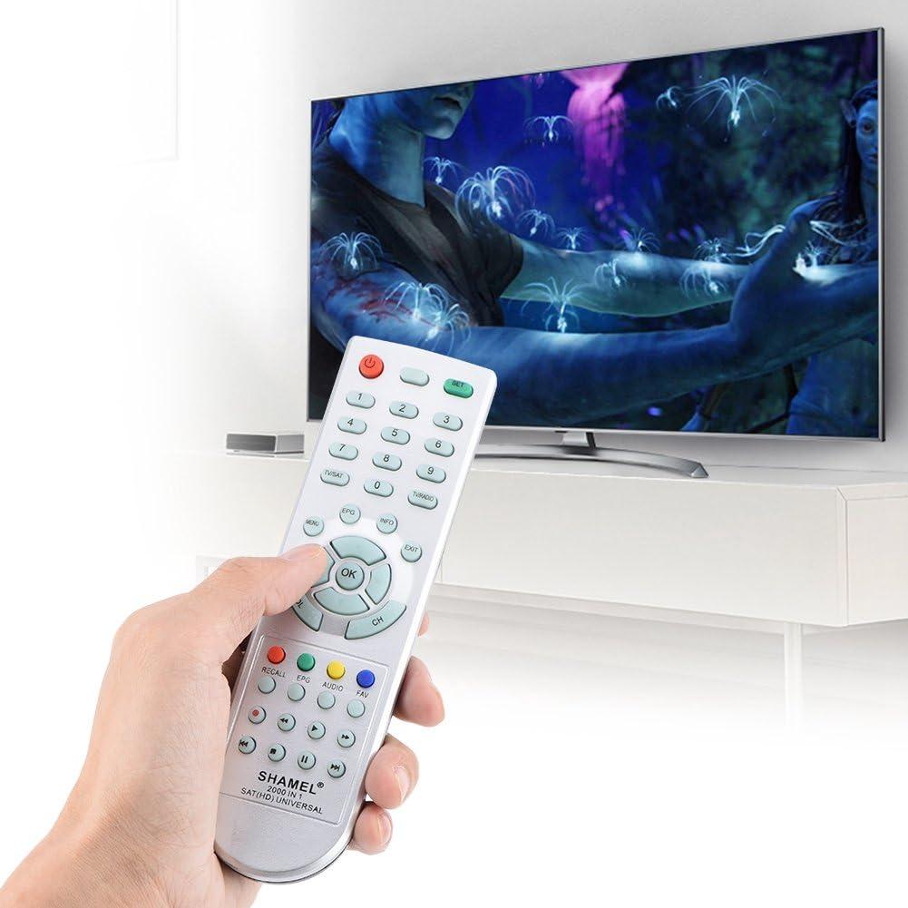 Bewinner Control Remoto de TV Inteligente para Receptores de Satélite,Receptor Satelital Sat Universal Control Remoto,8m Largo Distancia Mando a Distancia: Amazon.es: Electrónica
