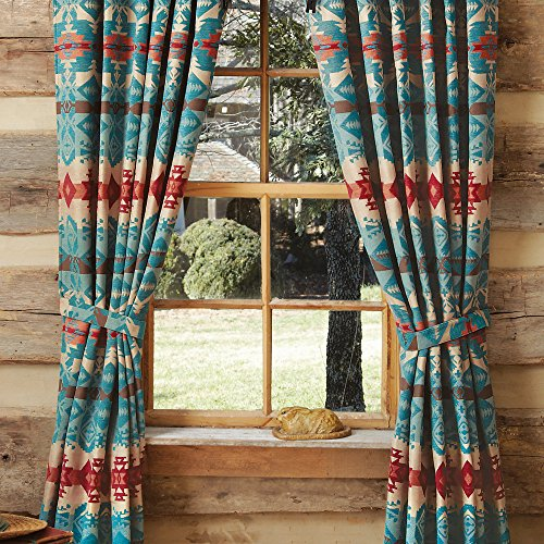 compressed achim in burgundy rooster the home b opaque tier printed southwestern curtains treatments w depot l drapes x polyester window semi n