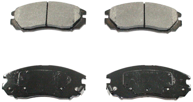 DuraGo BP1104 MS Front Semi-Metallic Brake Pad