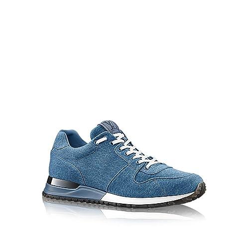 Louis Vuitton Bleu Jeans Run Away Sneaker: Amazon.es: Zapatos y complementos