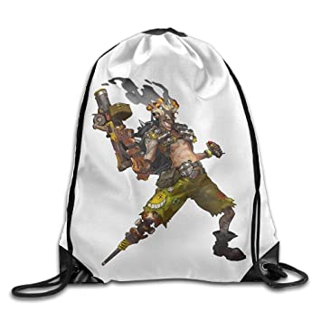 VVIANS Overwatch Junkrat Drawstring Bags Sports Backpack ...