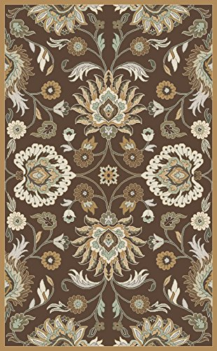 1014 Rug - 10' x 14' Rectangular Surya Area Rug CAE1108-1014 Silver Mink Color Hand Tufted in India
