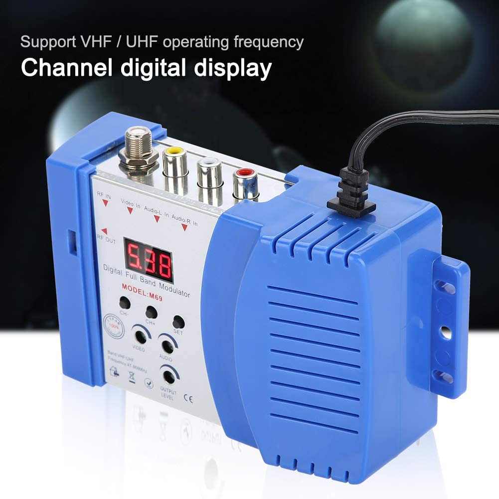 Eboxer Rf Av Rf Av Tv Digitaler Signalmodulator Elektronik