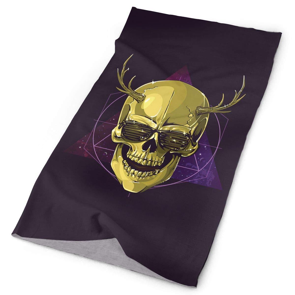 Headbands Skull Headwear Bandana Sweatband Gaiter Head Wrap Mask Neck Outdoor Scarf