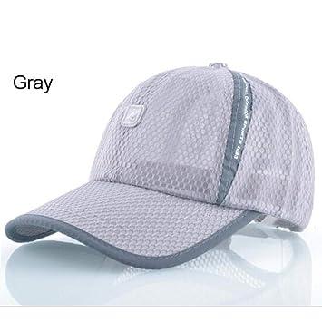 HSLPLX Sombreros de Sol para Hombres Gorra de béisbol Gorras ...