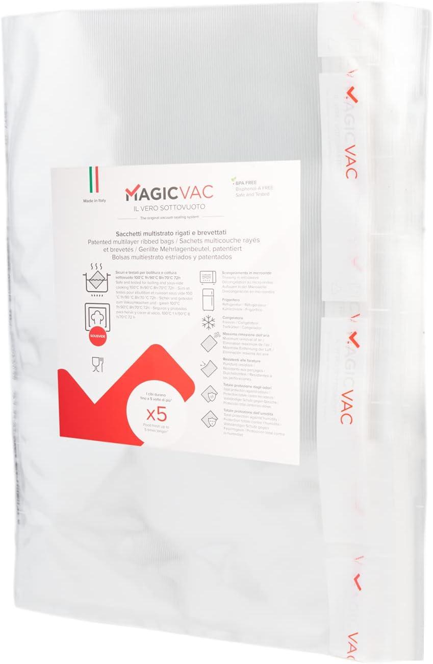 Magic Vac Vacuum Sealer Bags Gallon Size 12