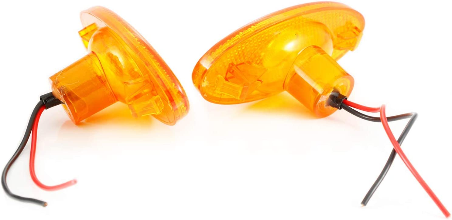 Lot de 6 feux de gabarit LED orange pour MASTER MK3 MOVANO MK2 2010-16