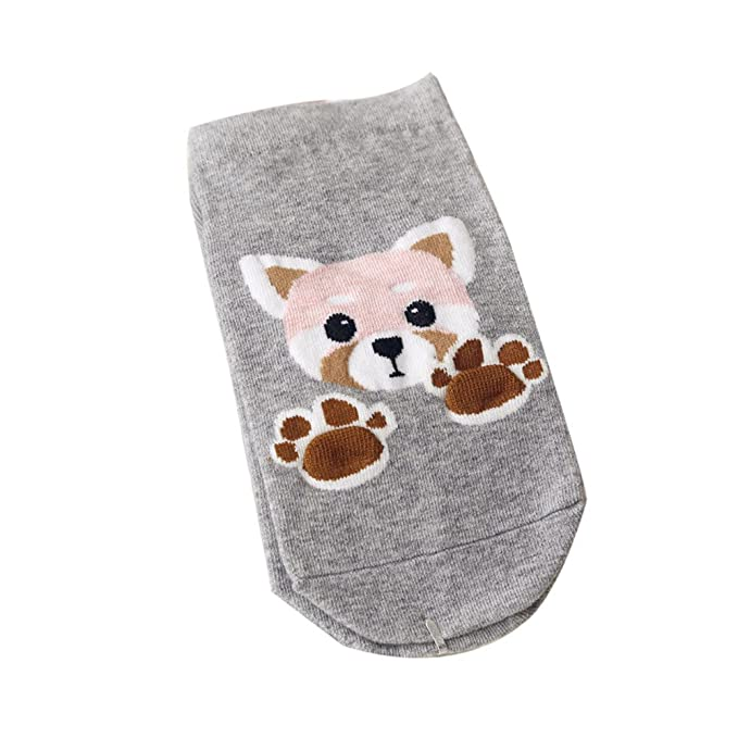 Amazon.com: Autumn Water Kawaii Short Socks Fashion Animal Cotton Socks Women Cute Lady Girls Low Cut Ankle Colorful Socks meias: Kitchen & Dining