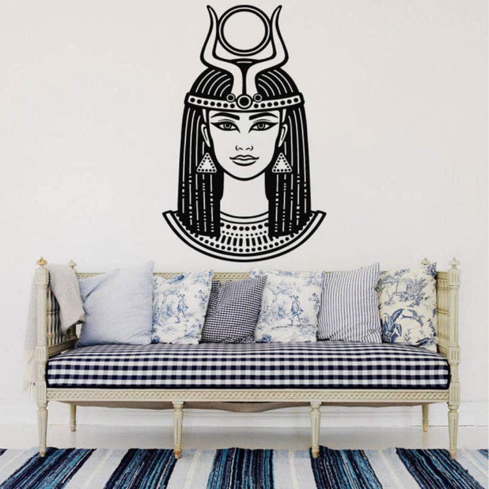 jixiaosheng Emperatriz Nefertiti Cleopatra Tatuajes de Pared Reina ...