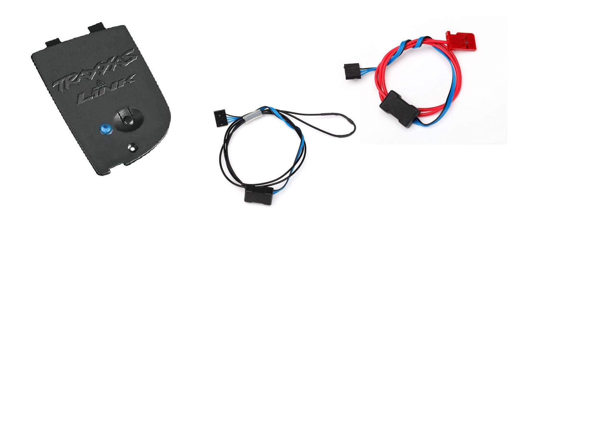 Traxxas Blue Tooth Wireless Module 6511, with Temperature Sensor 6526, and Voltage Sensor 6527 for All Vehicles