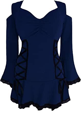 Dare to Wear Victorian Gothic Boho Temptation Corset Top