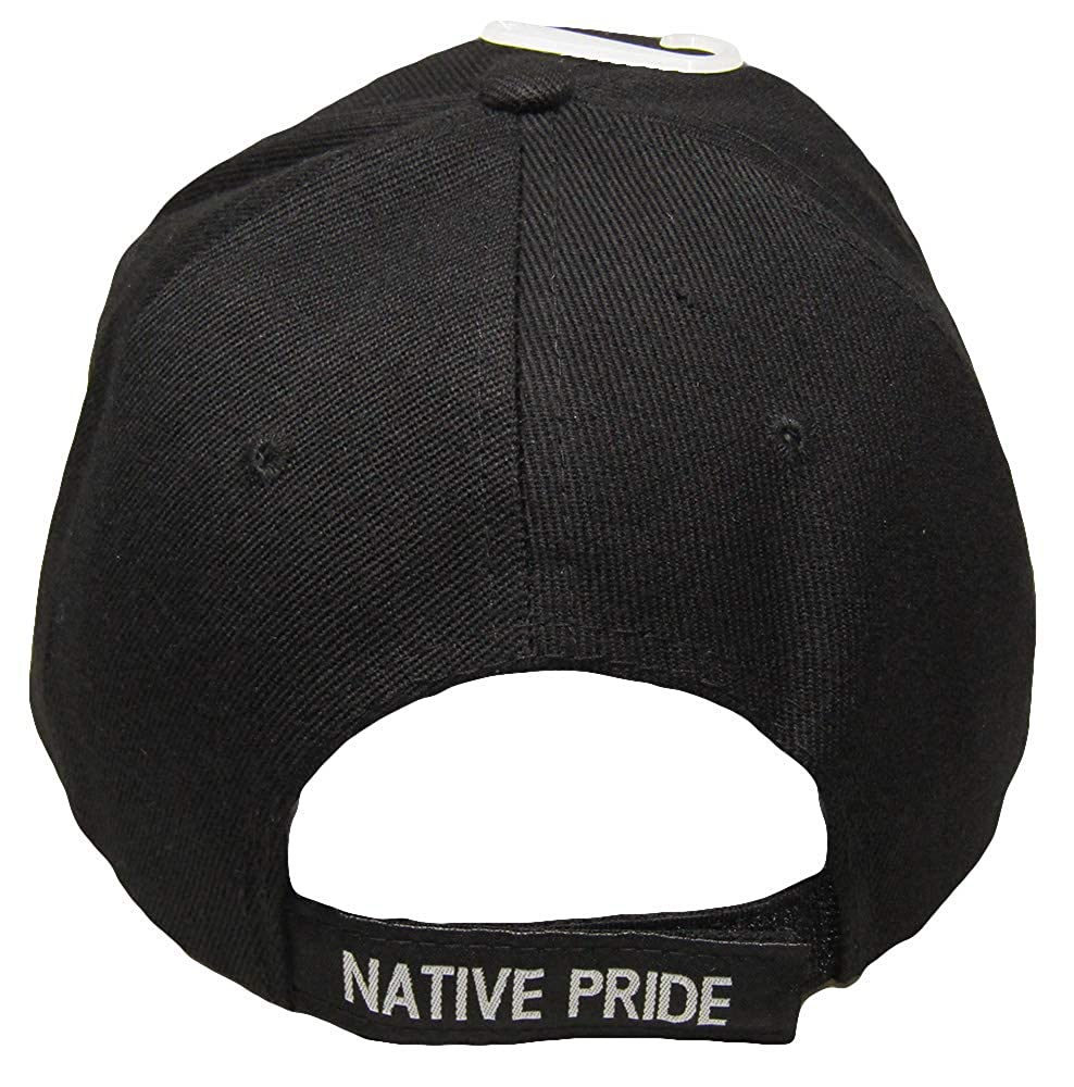AES Native Pride Dream Catcher and Feather Shadow Black Embroidered Cap Hat  (RAM) at Amazon Men s Clothing store  8684415ae850