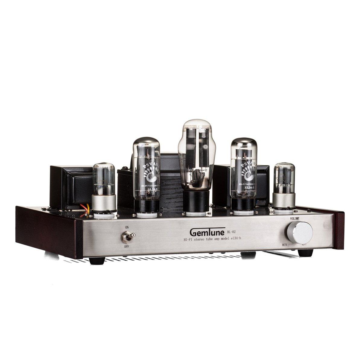GemTune BL-02 Class A Integrated tube amplifier with tube 5Z3PX1,EL34-BX2,6N9PX2 Tube by GemTune