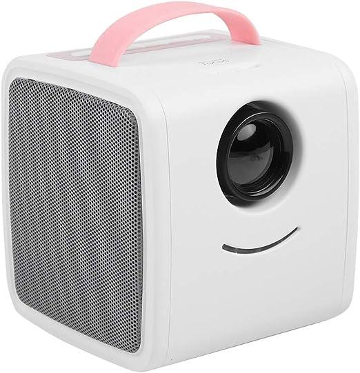 Mini Proyector para Niños, Proyector Portátil de Video LED, 30000 Horas Cine en Casa con Multimedia, Soporte HD 1080P, HDMI, AV, USB y TF para TV Box, PC Portátil, Cámara,etc(Rosa): Amazon.es: Electrónica