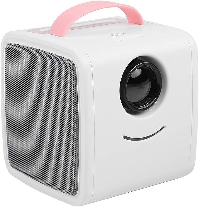 Focket Mini proyector, portátil 1080P HD LED Educación Infantil ...