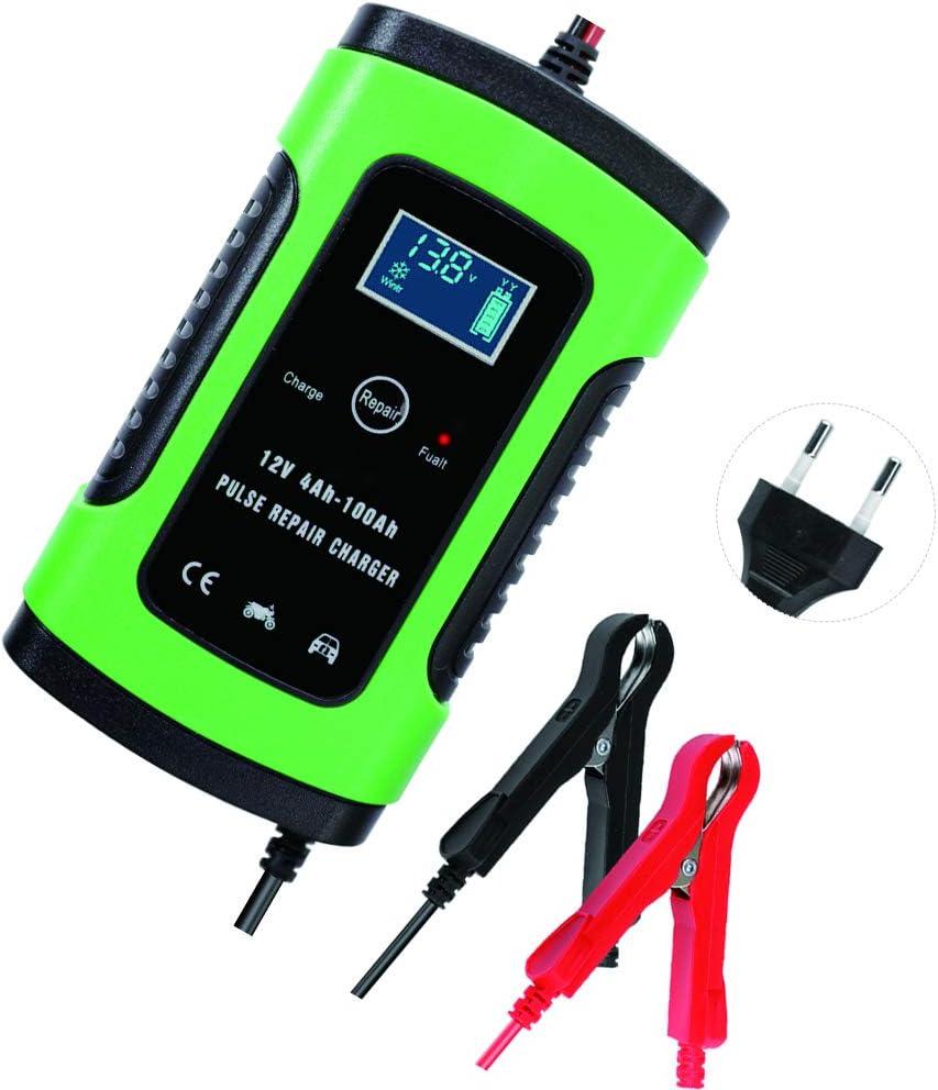Kkmoon Intelligentes Batterieladegerät 12 V 6 A Für Auto Motorrad Atv Akku Ladegerät Für Autobatterie Baumarkt