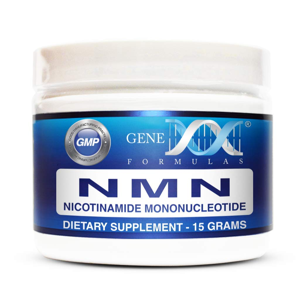 Genex NMN Stabilized Form Nicotinamide Mononucleotide (15 Grams) - Certified 99% Pure Powder | Works Best When Paired with Resveratrol | Direct NAD+ Supplement More Stable Than Riboside