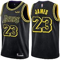 3e0c56a2e89b Majestic Athletic Lebron James  23 Los Angeles Lakers Swingman Men s Jersey