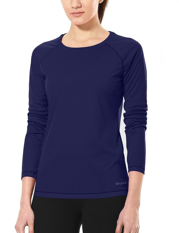 Baleaf Women's Basic Solid Running Long Sleeve Shirt