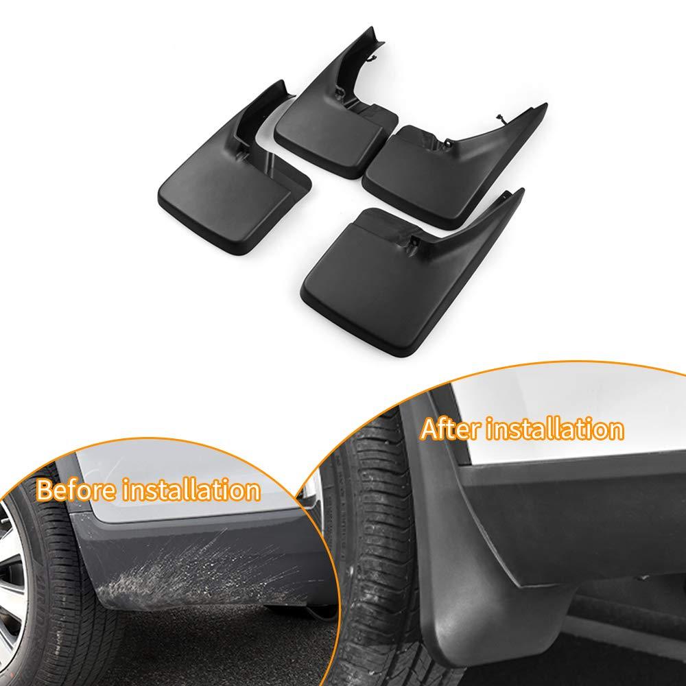 Car Wheel Lip Flare Tire Mud Flaps Splash Guard Fender Mudflaps For VOLVO V40