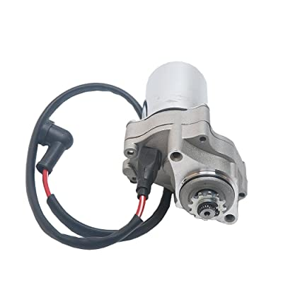 VideoPUP Starter Motor Compatible with Kids ATVs Quad Dirt Bike TaoTao 50cc 70cc 90cc 110cc,Bolt Upper Mount (Bombardier, Kawasaki, Polaris, Kazuma, Redcat and Suzuki Kids Models): Automotive