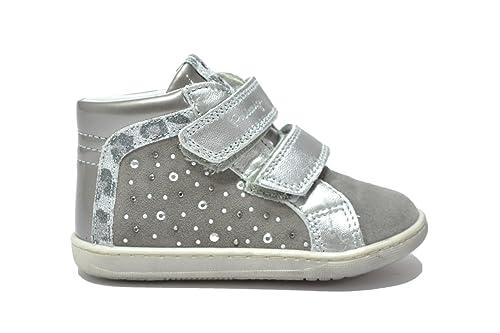 3aff48f9ff480 Primigi MEY 1 Sneakers Grigio Scarpe Bambina 60193 22  Amazon.it  Scarpe e  borse