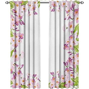 Amazon.com: shenglv Shabby Chic, Kitchen Curtains Valances ...