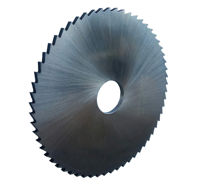 16 mm Aufnahmebohrung PAULIMOT HSS-Sägeblatt 80 x 2,5 mm 60 Zähne