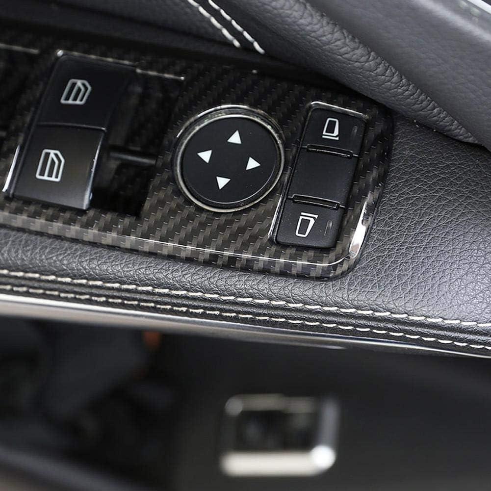Broco 5Pcs finestra Interruttore Coperchio pulsante Trim for Mercedes Benz A B C E CLA GLA GLK ML GLE Class W204