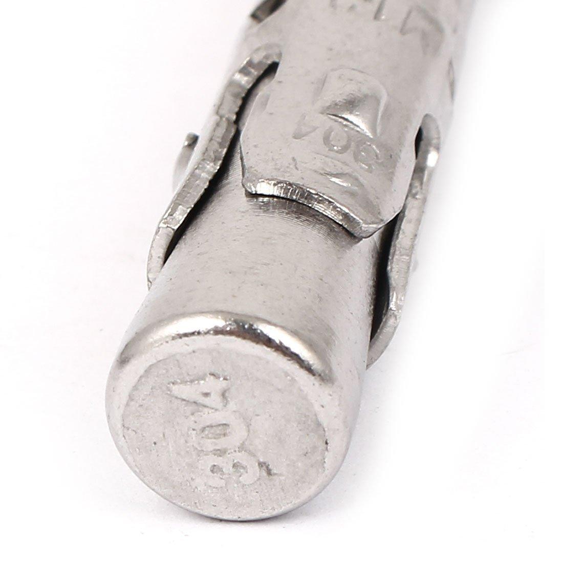 Voiture en Acier inoxydable eDealMax Réparation Gecko Extension Boulon Vis M12x150mm 2pcs