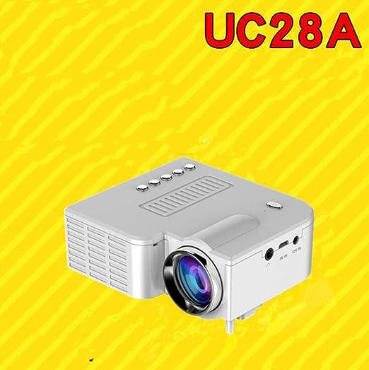 MYYDD Proyector, UC28A Mini proyector de teléfono portátil ...