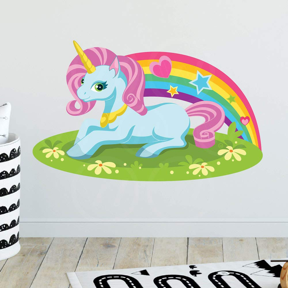 Wallpaper Wallpapering Supplies Tools Home Improvement Removable Girls Room Decor Roommates Magical Unicorn Peel And Stick Wallpaper Border Biud10 Org