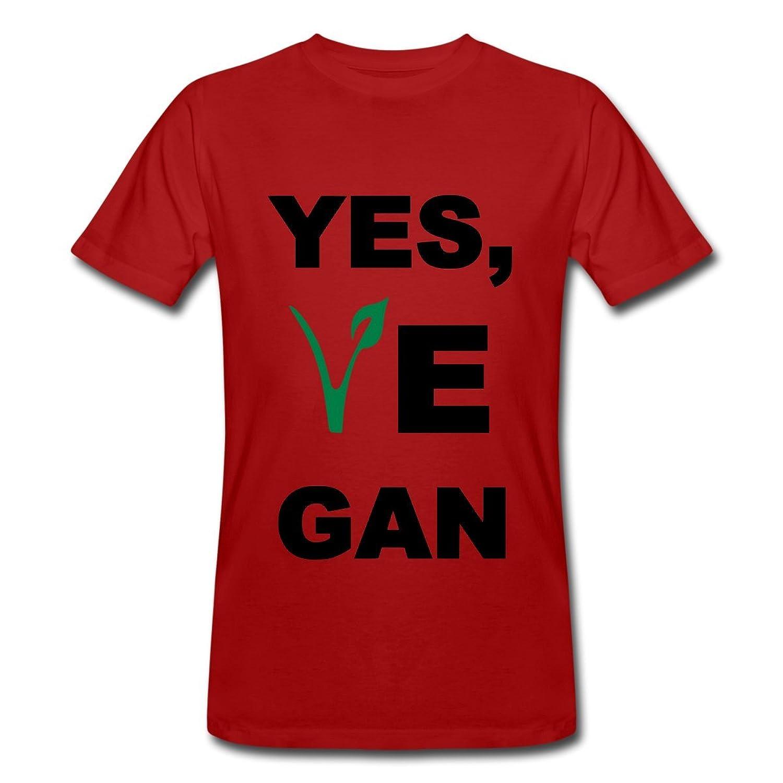 Yes, Vegan Men's Organic T-shirt by Spreadshirt??