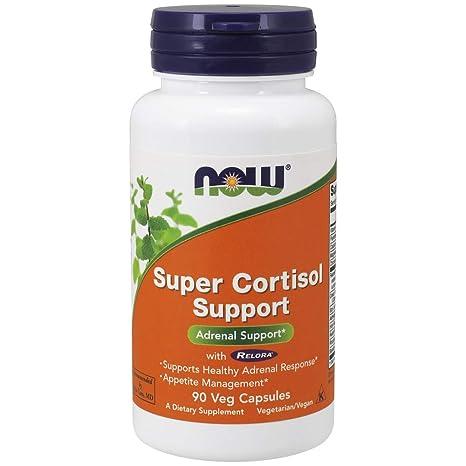 Now Foods | Súper Apoyo de Cortisol (Super Cortisol Support) | 90 cápsulas vegetales