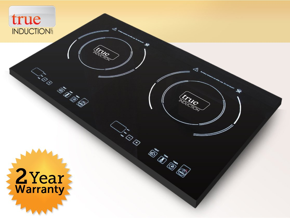 True Induction TI-2C Cooktop, Double Burner, Energy Efficient