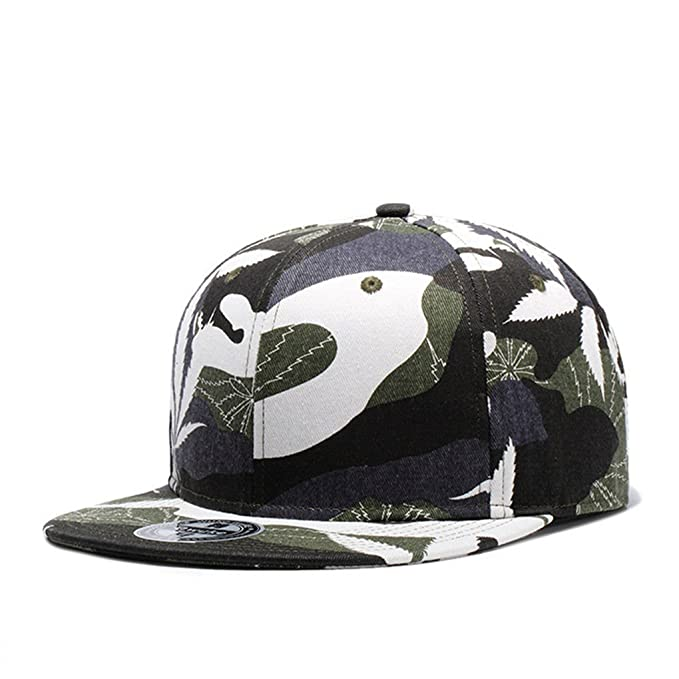 Llxln Hoja Camuflaje Cap Casquette Sombreros Snapback para Hombres ...