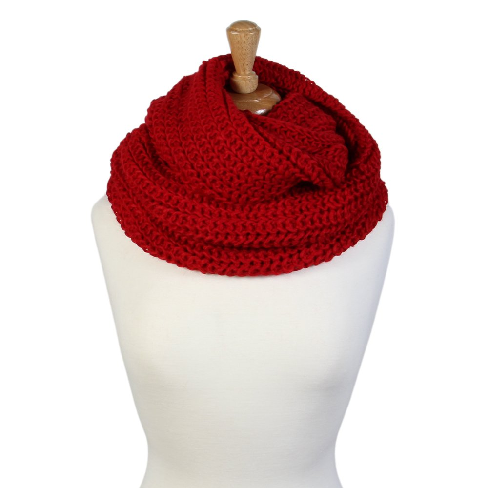 Scarfand ACCESSORY レディース B075DDRD64 Chunky Red Chunky Red