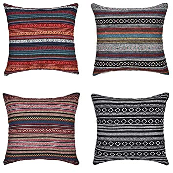 Amazon.com: Merrycolor - Funda de almohada decorativa para ...