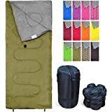 REVALCAMP Sleeping Bag Indoor & Outdoor Use. Great for Kids, Boys, Girls, Teens & Adults. Ultralight and Compact Bags are Per
