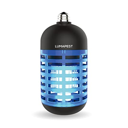 LumaPest Insect Bug Zapper Bulb By UV Lamp Mosquito Trap | Indoor U0026 Outdoor  Insect Killer