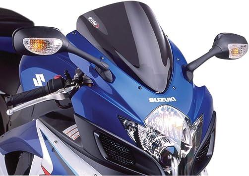 Puig Race Windscreen Dark Smoke for Kawasaki Ninja 650R 06-08
