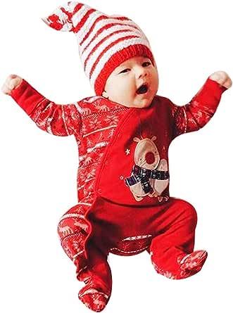 Deloito - Mono de algodón para niños y niñas, diseño de