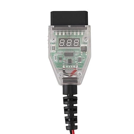 TOOGOO 5A Risparmio di Memoria del Computer per Auto OBD2 Strumento di Sostituzione della Batteria Morsetto del Cavo Espansione del Display Digitale Rilevamento Perdite della Batteria