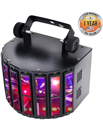 42dd174d908b Party Projector DJ Dance Light - Tabletop or Ceiling Mountable for Stage  Performance Show or with