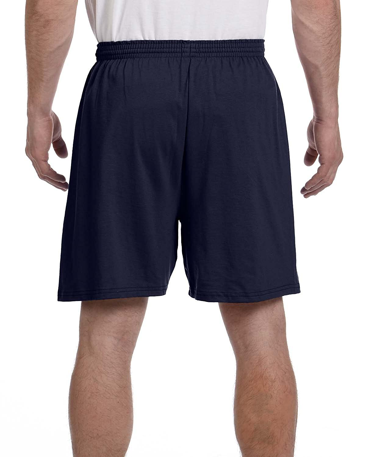 Cotton Jersey Shorts 6.1 oz. Cotton Jersey at Amazon Men's Clothing store:  Athletic Shorts