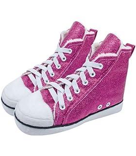 fedbf66e2bf8 Girls or Boys Novelty Converse Baseball Style Hi Top Runner Slippers ...