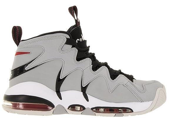 sale retailer 81fa2 152ea Amazon.com   Nike AIR MAX CB34 Basketball Shoes Wolf Grey Varsity RED  Neutral Grey 414243 003   Road Running