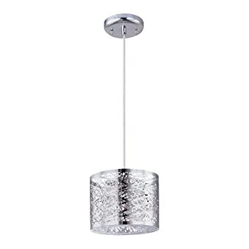 et2 lighting e2130610pc inca mini pendant polished chrome