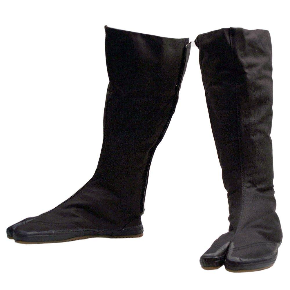 Ninja Tabi Boots, Black Jikatabi (Outdoor Tabi)