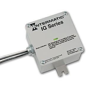 Intermatic IG1200RC3 Surge Protector Gray